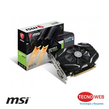 Tarjeta Video Msi Geforce Gtx 1050ti 4gb Ddr5 Oc