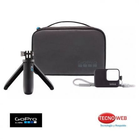 Kit De Viaje GoPro Shorty + Estuche + Funda silicona – Travel Kit