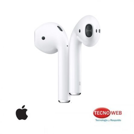 Auriculares inalambricos Apple AirPods 2 Con estuche de carga (No inalámbrica) Modelo: MV7N2BE/A