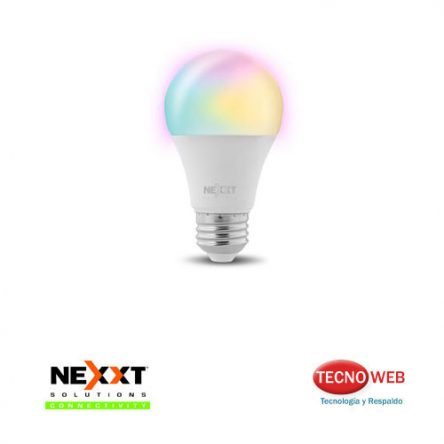 Lampara Smart Wifi Nexxt NHB-C120 9w de Colores RGB