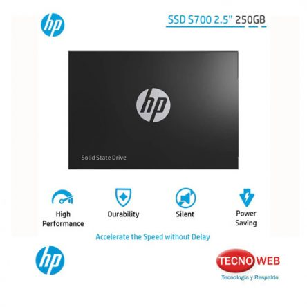 Disco Solido SSD Hp S700 2.5 250gb