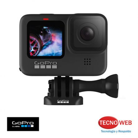 Cámara GoPro Hero 9 Black Edition 5K 20 MP Sumergible